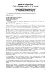 Fichier PDF manuel de constructiond une unite de production de de biomascubic meter biogas planta construction manual