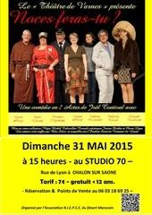 affiche 1 theatre 31 mai 2015