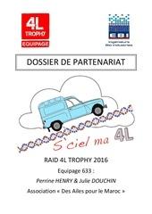 Fichier PDF dossier de partenariat 4l trophy equipage 633