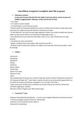 Fichier PDF liste affaires a emporter 2