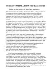 Fichier PDF puissante priere a saint michel archange