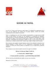 2015 solidarit nepal