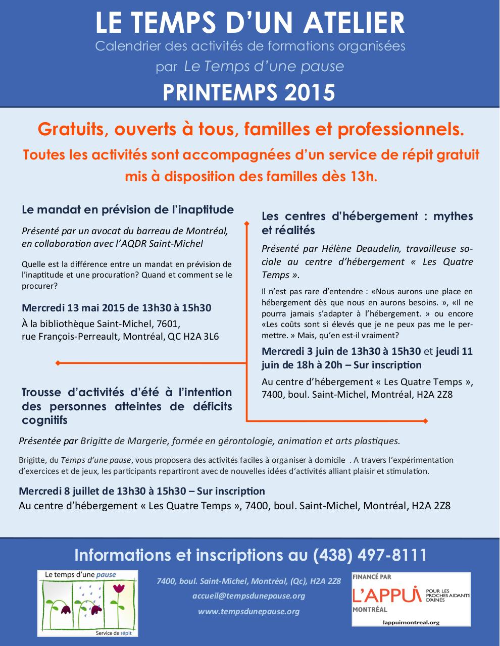 Aperçu du document Bulletin de formation - Printemps 2015.pdf - page 1/1