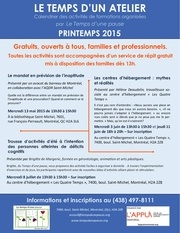 bulletin de formation printemps 2015