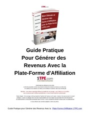 Fichier PDF guide pratique pour generer des revenus avec la plate forme 1tpe