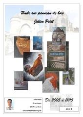 Fichier PDF huile sur panneau de bois julien petit artiste peintre