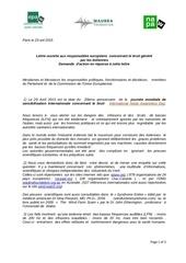 lettre aux responsables europeens bruit 042015
