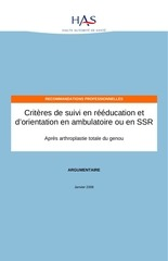 3 reeducation genou ptg argumentaire