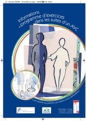 Fichier PDF info et programme exercice avc