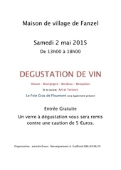 degustation invitation 2 05 2014