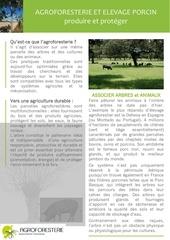 fiche afaf agroforesterie filiere porcs