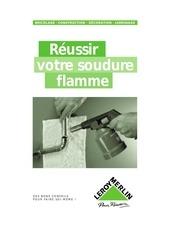 Fichier PDF la soudure flamme