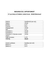 mesures appartement montreuil 1