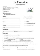 contrat de location pascaline