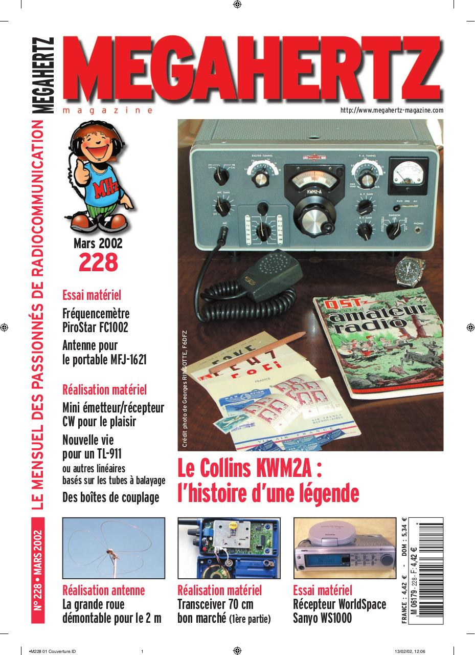 Aperçu du document megahertz-magazine-2002-228.pdf - page 1/96