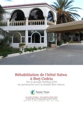 rehabilitation de l hotel salwa de borj cedria