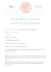 marshmallows maison par la receta de la felicidad 1