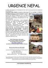 urgence nepal 2