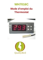 Fichier PDF notice thermostat wh7016c 1