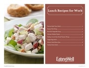 eatingwell lunch recipes for work web premium