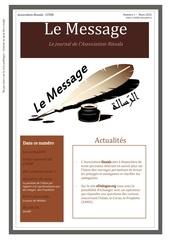 le message edition numero 1