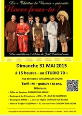 affiche theatre 31 mai billetterie