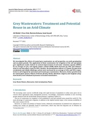 grey wastewaters treatment mekki et al 2015