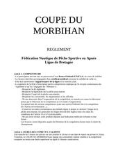 reglement coupe du morbihan