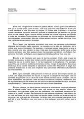 texte francais culture