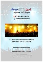 catalogue bar brasserie restaurant