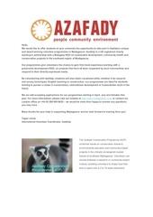 Fichier PDF azafady