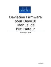 deviation10usermanual fr 1
