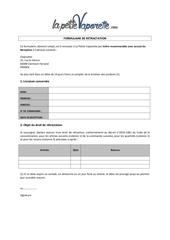 formulaire de retractation 1