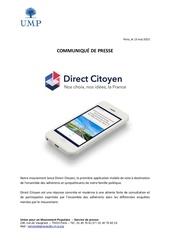 2015 05 13 communiquE de presse direct citoyen