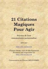 Fichier PDF 21 citations magiques pour agir