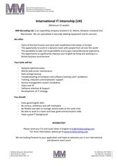 Fichier PDF it internship