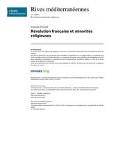 rives 17 14 revolution francaise et minorites religieuses