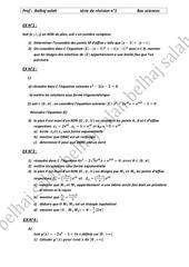 Fichier PDF serie de revision n 1 bac sciences