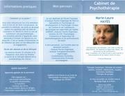 plaquette psychotherapie