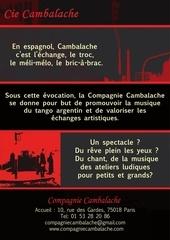 compagnie cambalache presentation