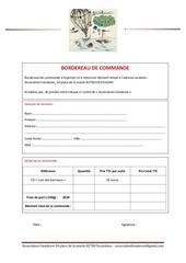 Fichier PDF bordereau de commande cd troupe