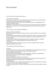 Fichier PDF etre un homme