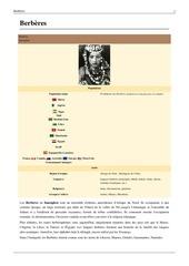 les berberes leurs origines