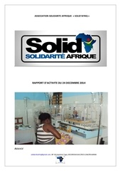 rapport solid afriq kpalime