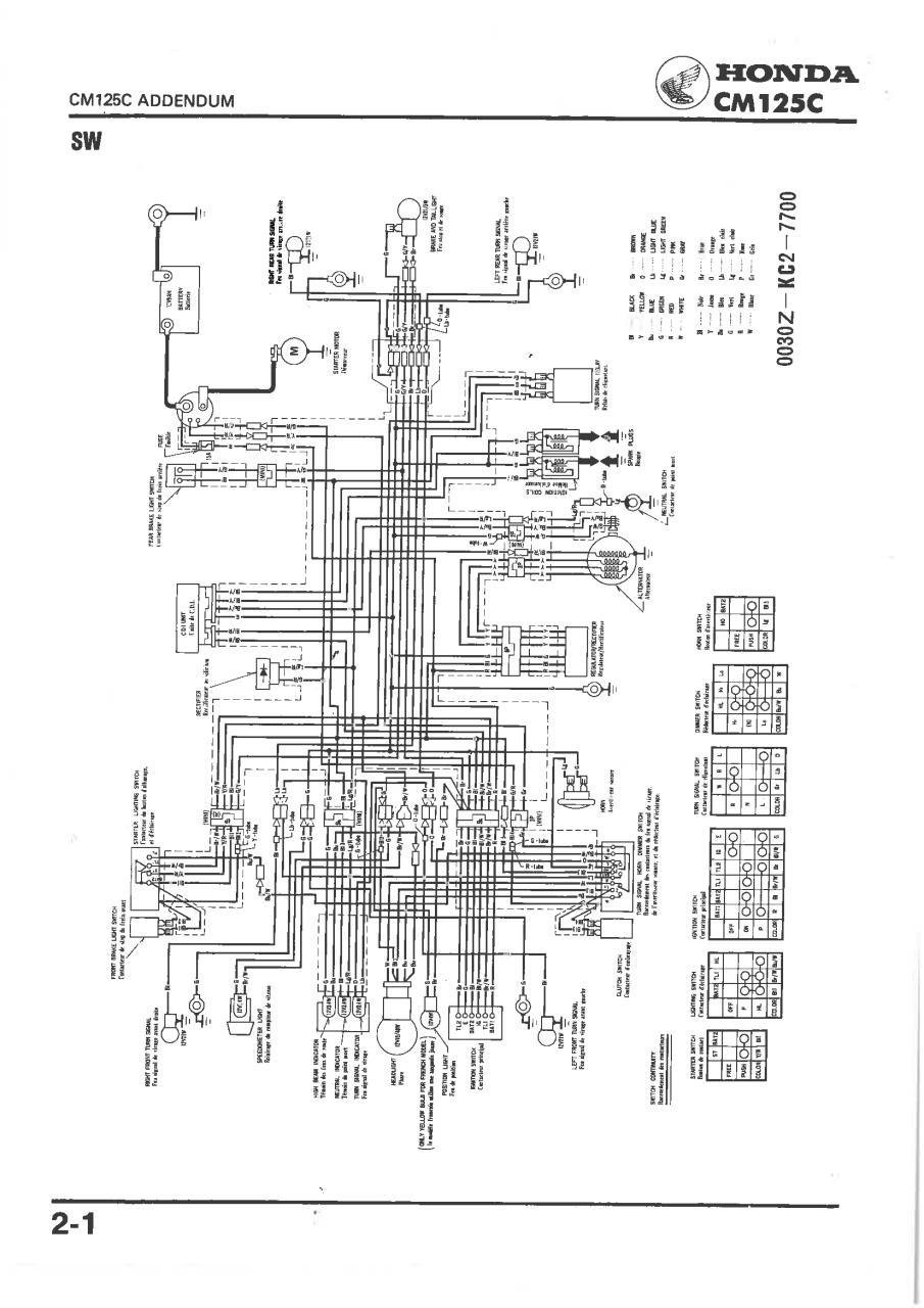 honda cm125c manuel d 39 atelier 6641901t additif 1988. Black Bedroom Furniture Sets. Home Design Ideas