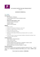 offres al ta adhod ingenieur commercial 2015 fr