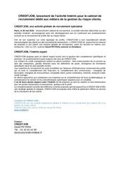 Fichier PDF creditjob lancement de l activite interim