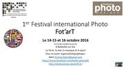 festival photo fotart plaquette pub
