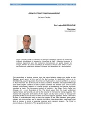geopolitique de l energie in revue de l energie 2010 1