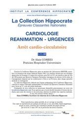 arret cardio circulatoire